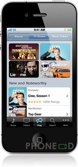 รูป 4 ดาวน์โหลด iOS 4.1 สำหรับ ไอโฟน และไอพอดทัช
