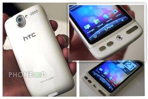 มือถือ HTC Desire สีขาว มีรูปหลุด