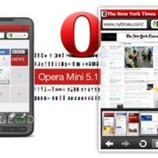 ดาวน์โหลดโปรแกรม Opera Mini 5.1 สำหรับมือถือ Windows Mobile