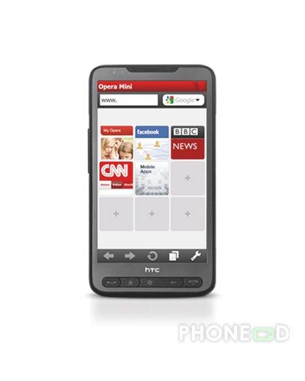รูป 3 ดาวน์โหลดโปรแกรม Opera Mini 5.1 สำหรับมือถือ Windows Mobile