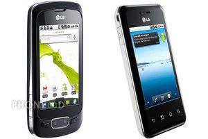มือถือ LG Optimus One และ Optimus Chic