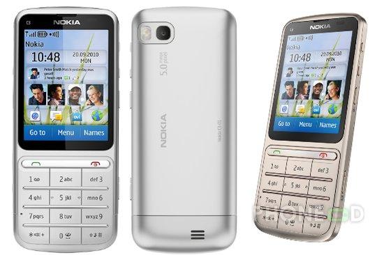 รูป 1 มือถือ Nokia C3-01 Touch and Type