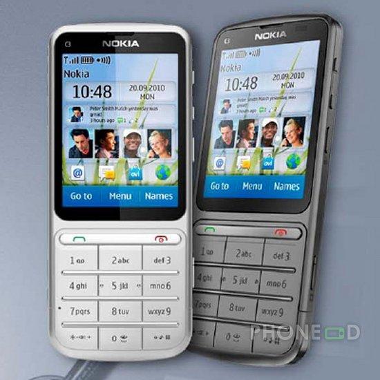 รูป 3 มือถือ Nokia C3-01 Touch and Type