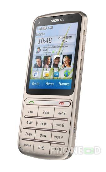 รูป 4 มือถือ Nokia C3-01 Touch and Type