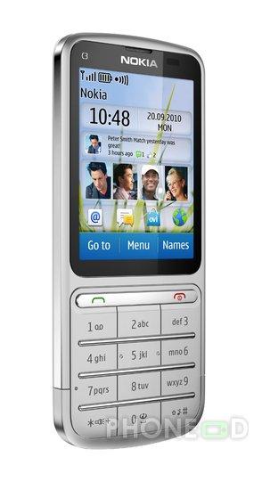 รูป 5 มือถือ Nokia C3-01 Touch and Type