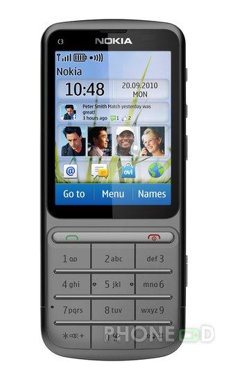 รูป 6 มือถือ Nokia C3-01 Touch and Type