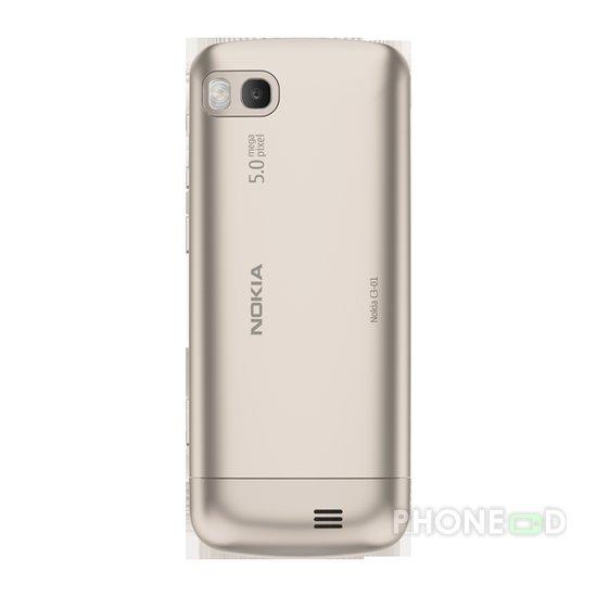 รูป 7 มือถือ Nokia C3-01 Touch and Type