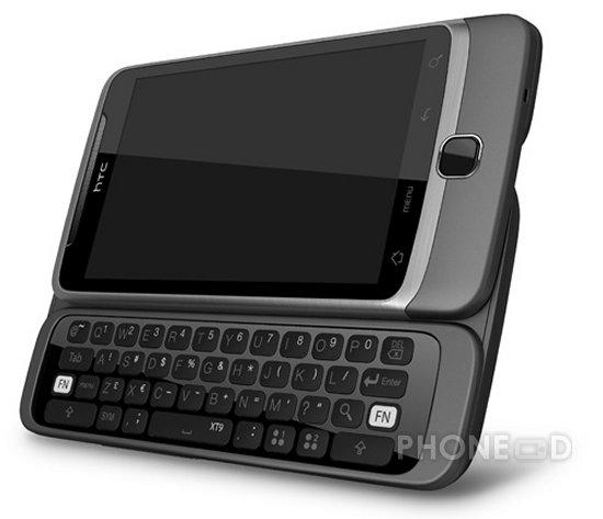 รูป 4 โทรศัพท์ HTC Desire Z