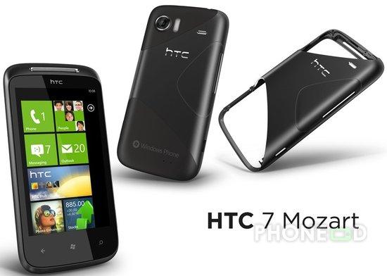 รูป 1 โทรศัพท์ HTC 7 Mozart