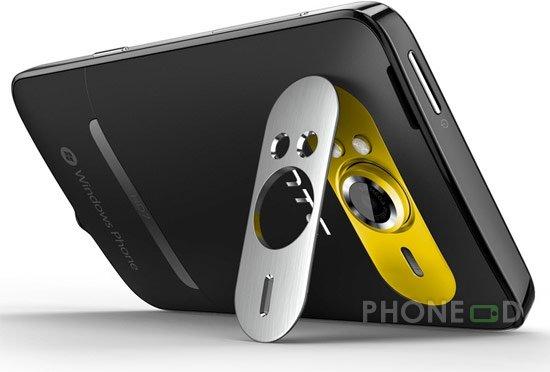 รูป 5 โทรศัพท์มือถือ HTC HD7
