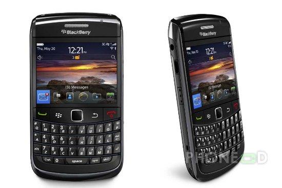 รูป 1 มือถือ BlackBerry Bold 9780