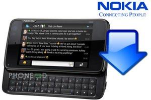 ดาวน์โหลดเฟิร์มแวร์ Nokia N900