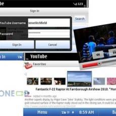 โปรแกรมดู YouTube เวอร์ชั่น 2.4.10 สำหรับมือถือโนเกีย