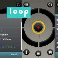 โปรแกรมมือถือฟรี Loop จากโนเกีย