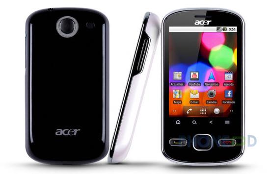 รูป 1 โทรศัพท์มือถือ Acer beTouch E140