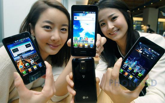 รูป 4 มือถือ LG Optimus 2X