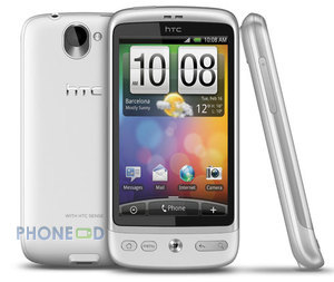 ราคามือถือ HTC Desire สีขาว Winter White
