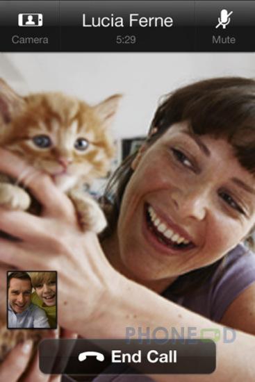 รูป 2 ดาวน์โหลดโปรแกรม Skype เวอร์ชั่น 3.0 สำหรับ iPhone