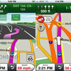 โปรแกรม GPS Garmin StreetPilot สำหรับไอโฟน