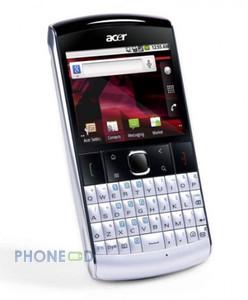 โทรศัพท์มือถือ Acer beTouch E210