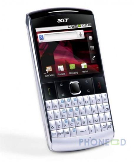 รูป 1 โทรศัพท์มือถือ Acer beTouch E210