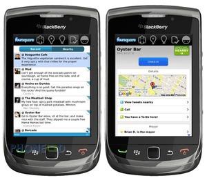 ดาวน์โหลดโปรแกรม Foursquare เวอร์ชั่น 1.9.19 สำหรับแบล็คเบอร์รี่