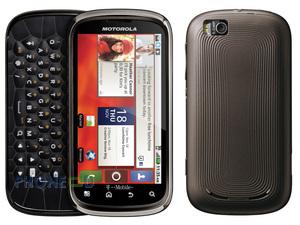 ข้อมูลมือถือ Motorola Cliq 2