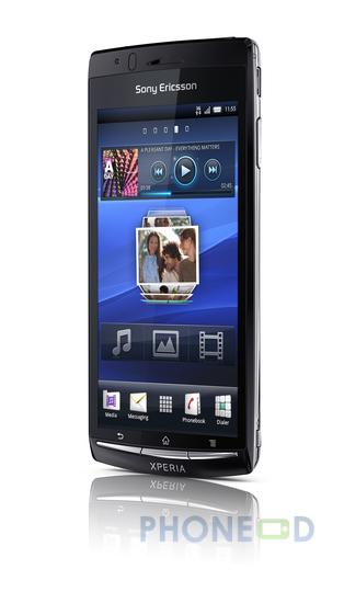 รูป 5 โทรศัพท์ Sony Ericsson Xperia Arc