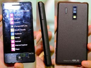 ภาพโทรศัพท์มือถือ Asus E600 พร้อมคลิป