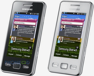 โทรศัพท์มือถือ Samsung Star II S5260
