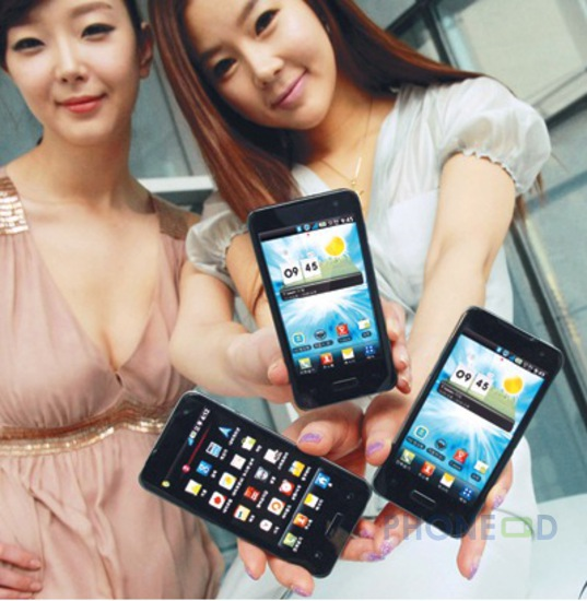 รูป 1 โทรศัพท์ LG Optimus 2X เปิดตัวที่เกาหลี
