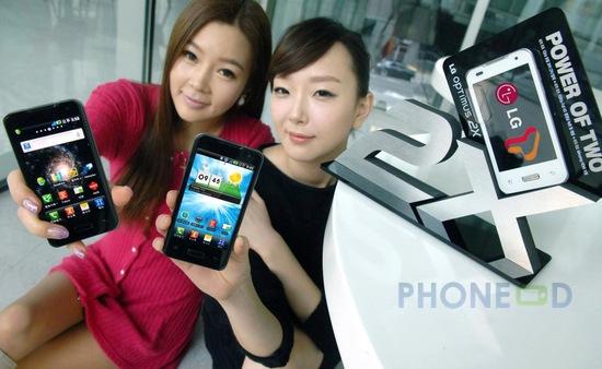 รูป 3 โทรศัพท์ LG Optimus 2X เปิดตัวที่เกาหลี