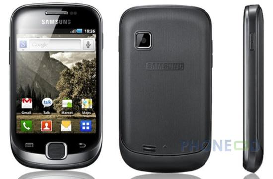 รูป 1 มือถือ Samsung Galaxy Fit S5670