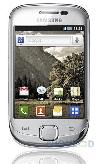 รูป 4 มือถือ Samsung Galaxy Fit S5670