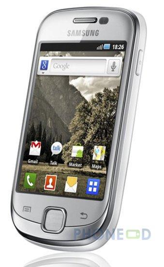 รูป 5 มือถือ Samsung Galaxy Fit S5670