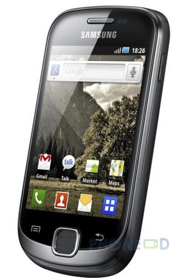 รูป 6 มือถือ Samsung Galaxy Fit S5670