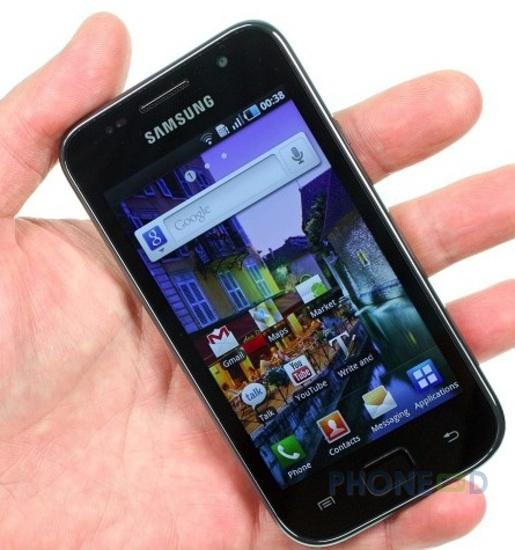 รูป 2 ซัมซุง Galaxy SL I9003