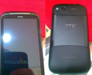 ภาพมือถือใหม่ HTC Saga  ก่อนเปิดตัว