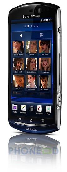 รูป 2 โทรศัพท์โซนี่อีริคสัน Xperia Neo