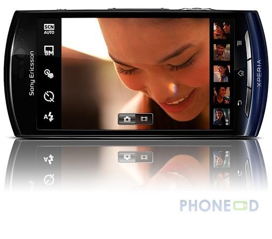 รูป 4 โทรศัพท์โซนี่อีริคสัน Xperia Neo