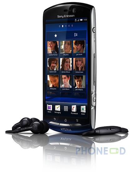 รูป 5 โทรศัพท์โซนี่อีริคสัน Xperia Neo