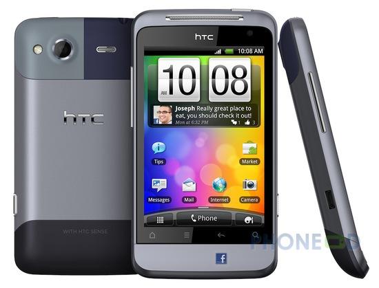 รูป 3 มือถือ HTC Salsa