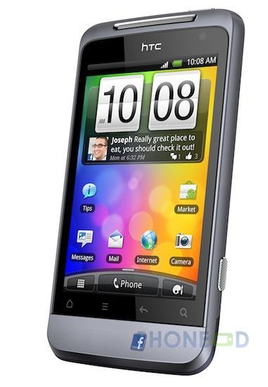 รูป 4 มือถือ HTC Salsa