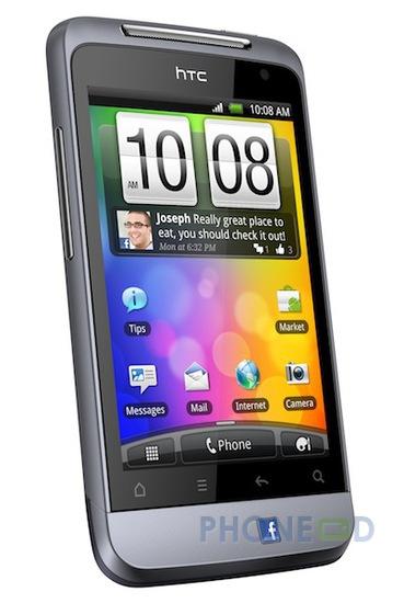 รูป 5 มือถือ HTC Salsa