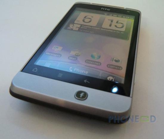 รูป 6 มือถือ HTC Salsa