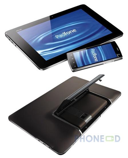 รูป 1 มือถือแท็บเล็ต Asus Padfone