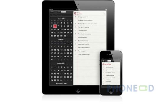 รูป 5 ข้อมูลระบบปฏิบัติการ iOS 5 สำหรับ ไอโฟน, ไอแพด และ ไอพอดทัช