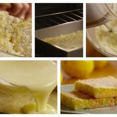 สูตรทำขนม Lemon Square Bars