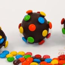สอนทำระเบิดช็อคโกแลต m&m
