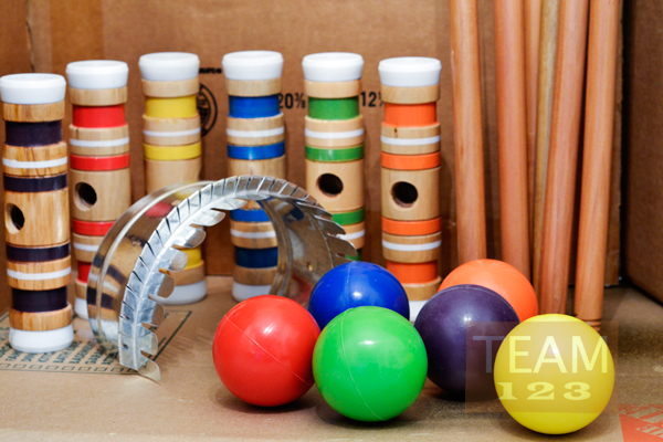 รูป 7 เกมส์ตีบอลเล็กๆ เข้าประตู กิจกรรมสนุกๆ